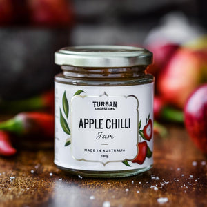 Turban Chopsticks Apple Chilli Jam - 180g