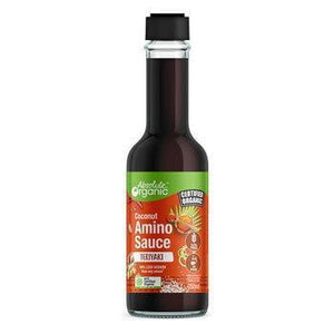Absolute Organic Coconut Amino TERIYAKI Sauce 250ml