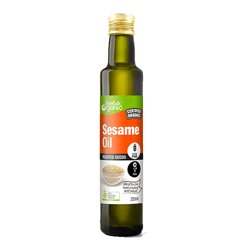 Absolute Organic Roasted Sesame Oil 250ml