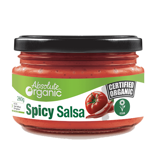 Absolute Organic Salsa SPICY 260g