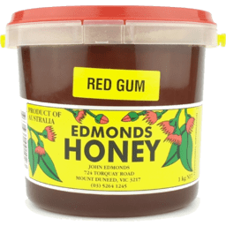 Edmonds Red Gum Honey 3kg