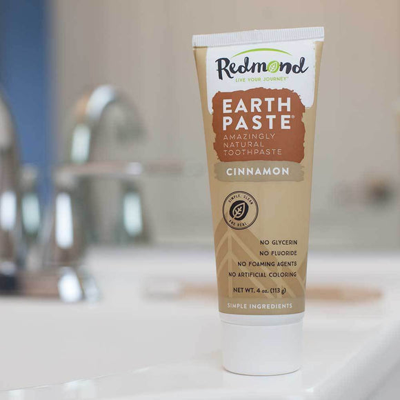 Redmond Clay Earthpaste Toothpaste Cinnamon 113g