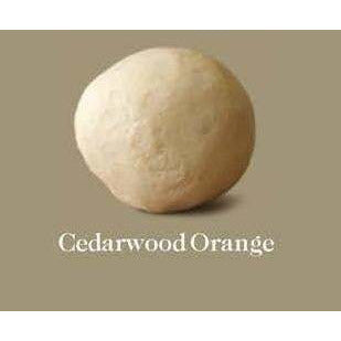 Est Extra Virgin Olive Oil Soap Ball Cedarwood Orange (Small) 95g