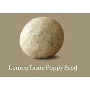 Est Extra Virgin Olive Oil Soap Ball Lemon Lime Poppy Seed (Small) 95g