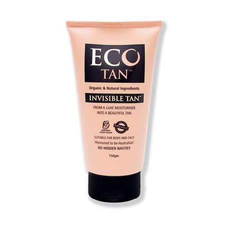 Eco Tan Organic Invisible Tan 150g - Certified Organic Fake Tan