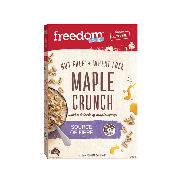 Freedom Foods Maple Crunch 300g
