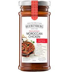 Beerenberg Moroccan Coucous Chicken Meal Base 240ml