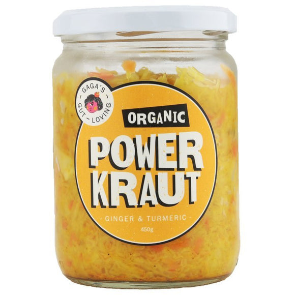 Gaga's PowerKraut - Ginger and Turmeric 450g