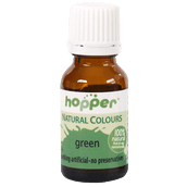Hopper Natural Colouring GREEN 20g