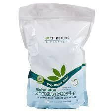 Tri Nature Alpha Plus Laundry Powder 1kg (inc. Scoop)