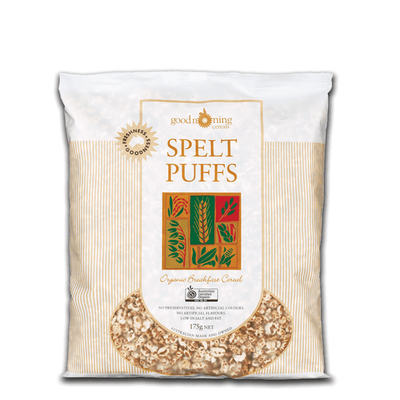 Good Morning Cereals Spelt Puffs Organic 175g