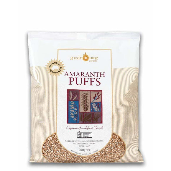 Good Morning Cereals Amaranth Puffs Organic 200g