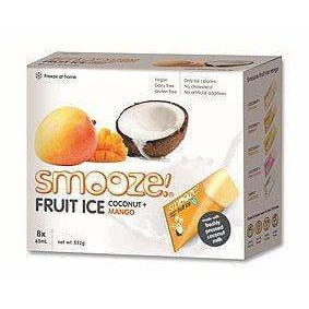 Smooze Fruit Ice Mango & Coconut - 8 pack (552g)