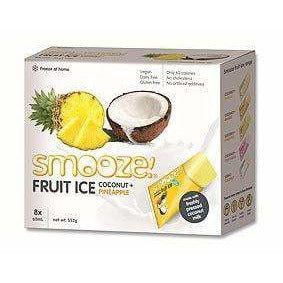 Smooze Fruit Ice Pineapple & Coconut - 8 pack (552g)