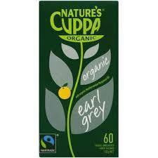 Nature's Cuppa Organic Earl Grey Tea 60 tea bags