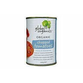 Global Organics Chopped Tomatoes 400g (BPA free)