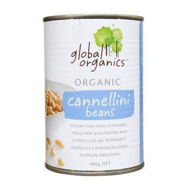 Organic Cannellini Beans 400g (BPA free)