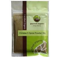 Organic Chinese 5 Spice Powder 30g