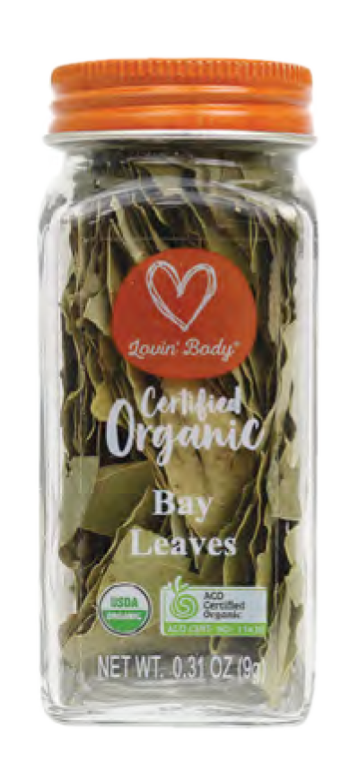 Lovin' Body Organic Bay Leaves - 9g