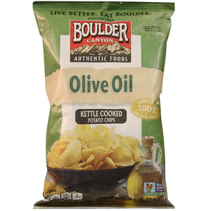 Boulder Canyon Olive Oil Potato Chips Sea Salt 142g