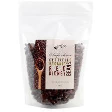 Chef's Choice Organic Red Kidney Beans 500g