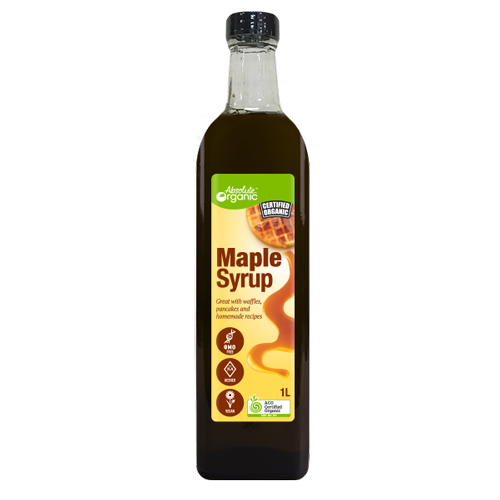 Absolute Organic Maple Syrup 1L