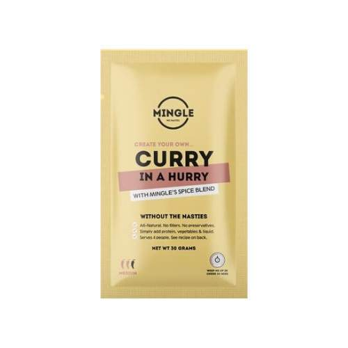 MINGLE Curry In A Hurry Natural Seasoning Blend 30g