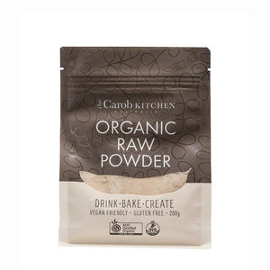 The Carob Kitchen Organic Raw Carob Powder 200g