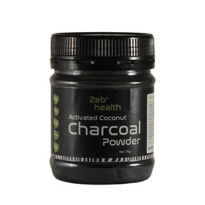 Zeb Health Activated Coconut Charcoal Powder 75g
