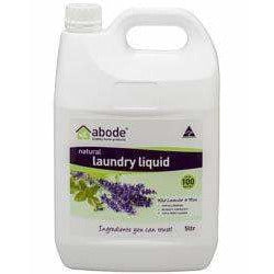 Abode Natural Laundry Lavender & Mint 5L
