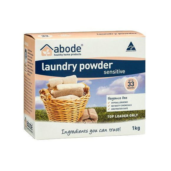 Abode Natural Laundry Zero Sensitive 1kg