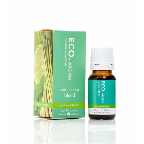 Eco Aroma Essential Oil Blend Sinus Clear 10ml (RRP $19)