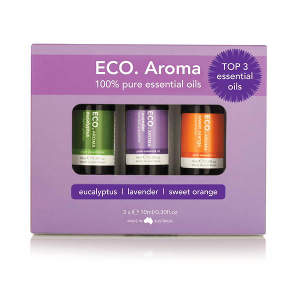 Eco Aroma Best Selling Trio Pack (RRP value $40)