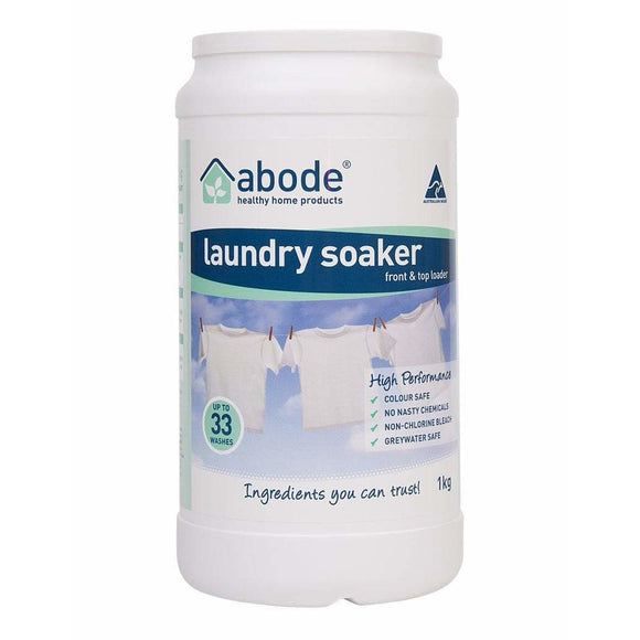 Abode Natural Laundry Soaker High Performance 1kg