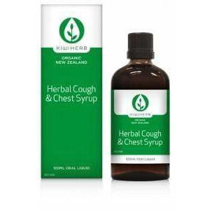 Kiwiherb Organic Herbal Cough & Chest Syrup 200ml