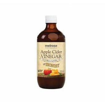 Melrose Organic Apple Cider Vinegar with Honey 500ml