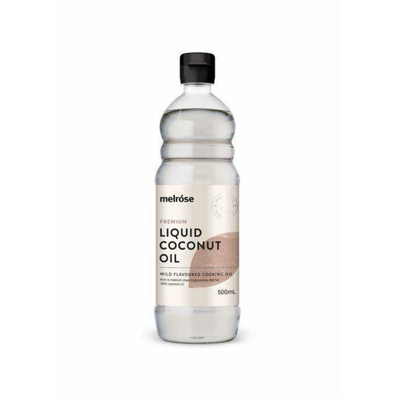 Melrose Premium Fractionated Liquid Coconut Oil 500ml
