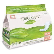 Organyc Maternity Pads 12 pack