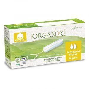 Organyc Regular Tampons 16 pack