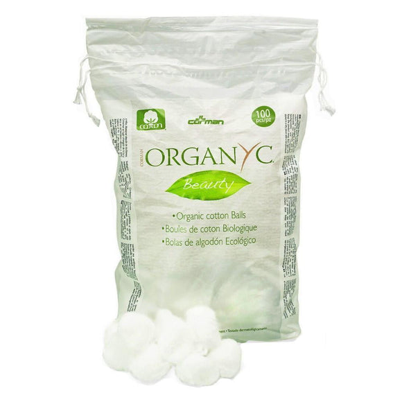 Organyc Cotton Balls x 100