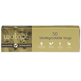 Wotnot Compostable Biodegradable Nappy Bags 50pk