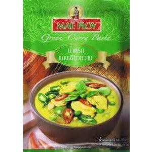 Mae Ploy Green Curry Paste 50g