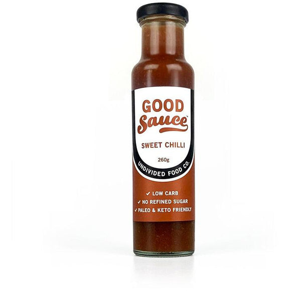 Undivided Food Co. Good Sauce Organic Sweet Chilli Sauce 260g