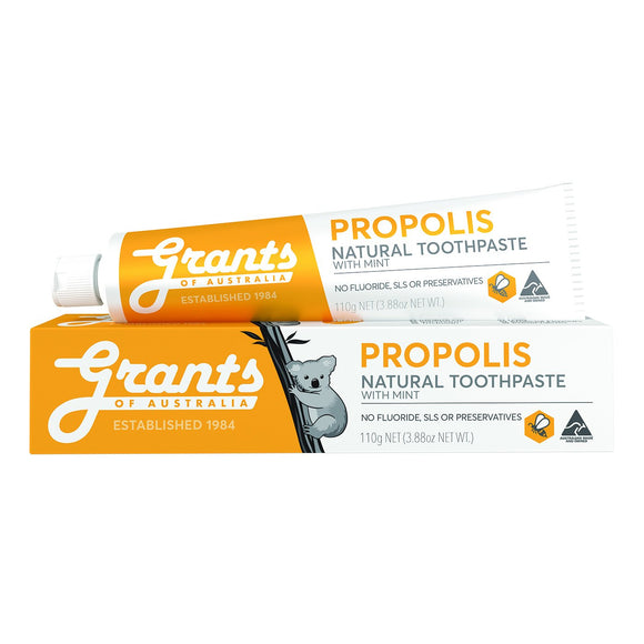 Grants Natural Toothpaste Propolis with Mint - 110g