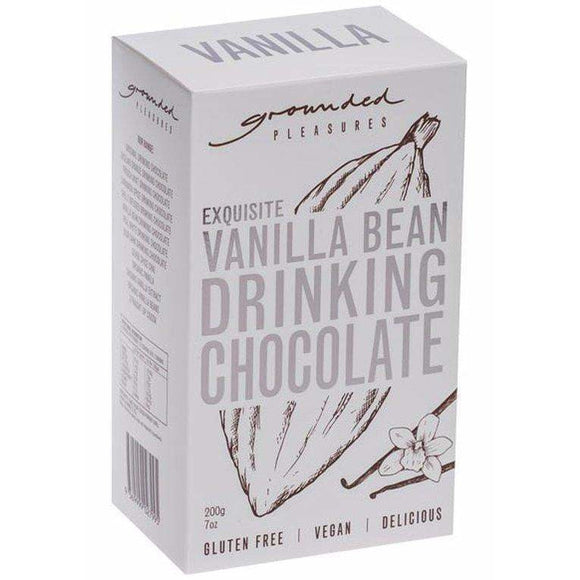 Grounded Pleasures Vanilla Bean Drinking Chocolate 200g
