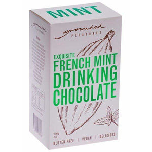 Grounded Pleasures French Mint Drinking Chocolate 200g
