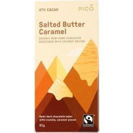 Pico Organic Salted Butter Caramel Chocolate 80g