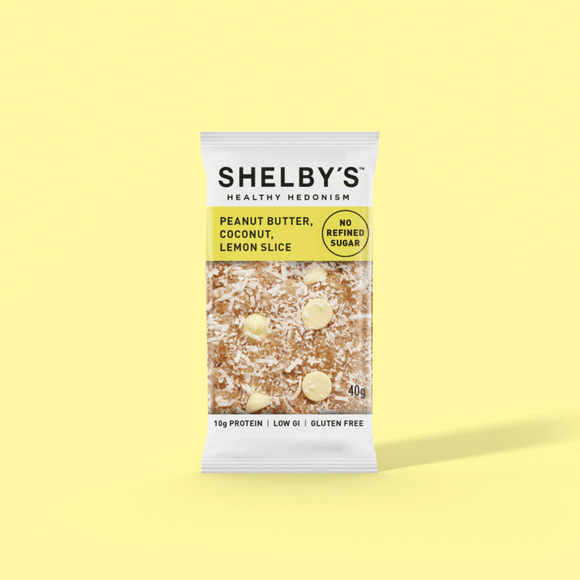 Shelby's Lemon Coconut & Yoghurt Slice 40g
