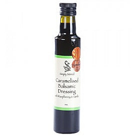 Caramelised Balsamic Dressing with Raspberry & Vanilla - 250ml