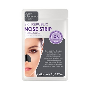 Charcoal Nose Strips - 6 pack